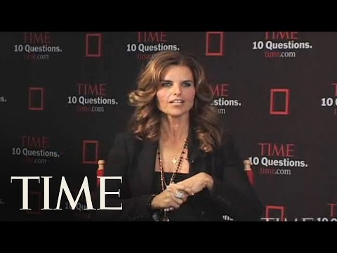 TIME Interviews Maria Shriver