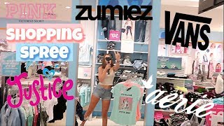 Shopping Spree at the Mall | Mall Vlog + Clothing Try On