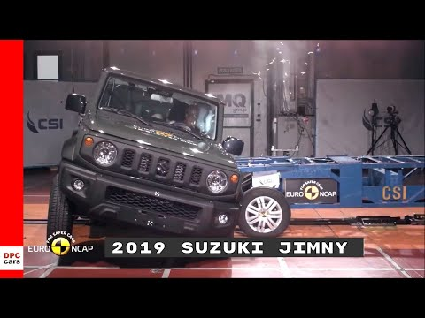 2019 Suzuki Jimny Crash Test & Rating
