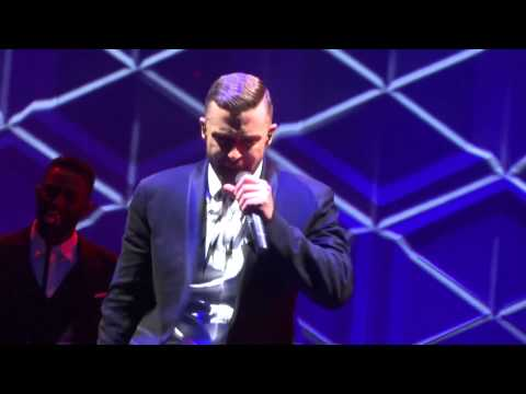 Justin Timberlake - TKO live 20/20 Experience World Tour Sydney 01/10/14