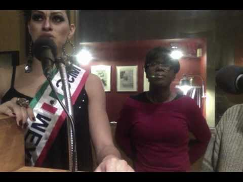 Selena Escobar, Miss Mexico Radio Interview