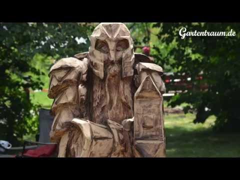 Impressionen Carving Cup - Internationale Kettensägen-Kunsttage in Thüringen - Imposante Holzfiguren
