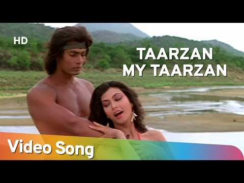Tarzan My Tarzan Aaja Main Sikha Du Pyar - Kimi Katkar - Tarzan - Bollywood Songs - Alisha Chinoy video