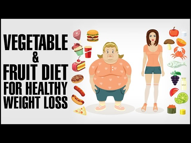 Best Vegetables & Fruit Diet For Healthy Weight Loss( Upto 5 Kgs In 1 Week)