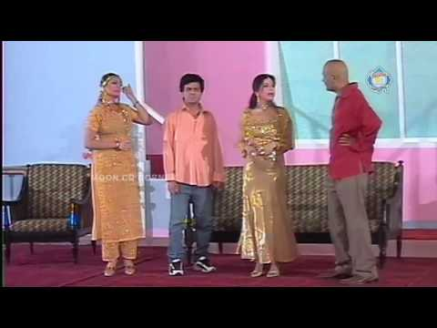 Time Pass Zafri Khan and Tariq Teddy New Pakistani Stage Drama Full Comedy Show