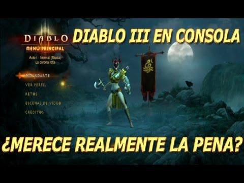 Diablo 3 de Ps3 // ¿Merece la pena la versión de consola? y Comparativa con Pc