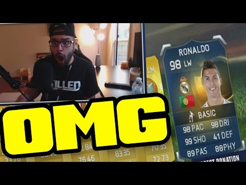 I PACKED TOTS CRISTIANO RONALDO - FIFA 15 Ultimate Team