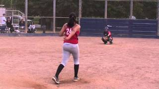 Meehra Nelson Softball Skills Video