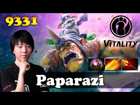 Paparazi Alchemist TOP 1 WORLD | 9331 MMR Dota 2
