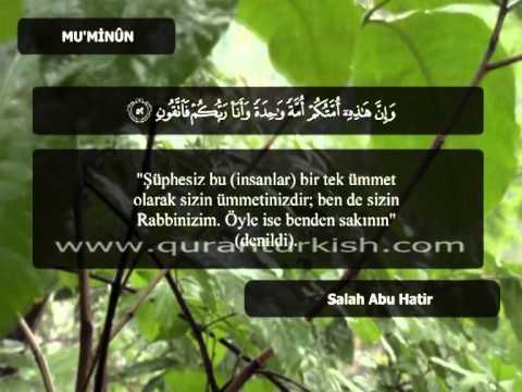 138   Cüz 18   Al-mu'minun (36-74)   Salah Abou Khater video