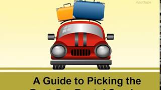 Step by Step Guide for choosing the Best Car Rental Service