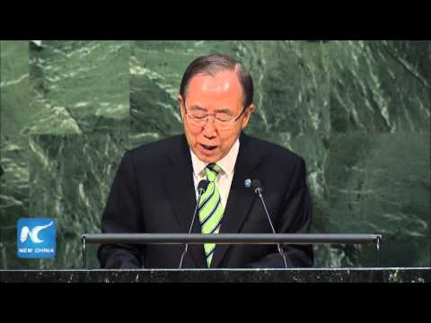 Ban Ki-moon: the power to build a better world is in your hands