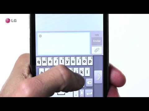LG Optimus L9: El teclado inteligente