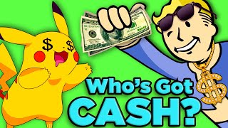 Pokemon vs Fallout! Who's Getting PAID?| The SCIENCE of... Video Game Millionaires