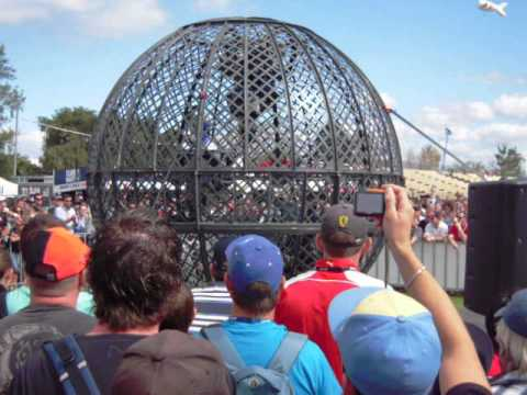 Melbourne Grand Prix 2012 - Globe of Death
