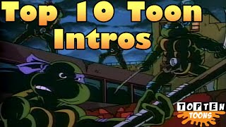 Top 10 Cartoon Intros