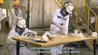 Công việc đơn hàng Sơn kim loại làm việc tại Nhật Bản