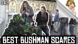 BEST OF The Bushman Scare prank Funny Video! #243   Ryan Lewis Pranks