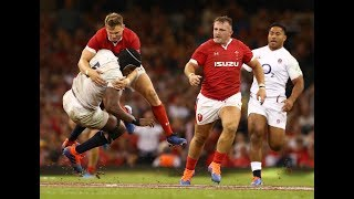 Highlights: Wales 13 - 6 England