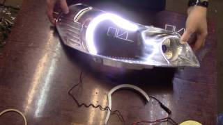Suzuki CX4 Led DRL Angel Eyes by TAU tech
