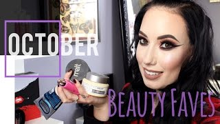 October 2016 Beauty Favorites | lesleydoesmakeup