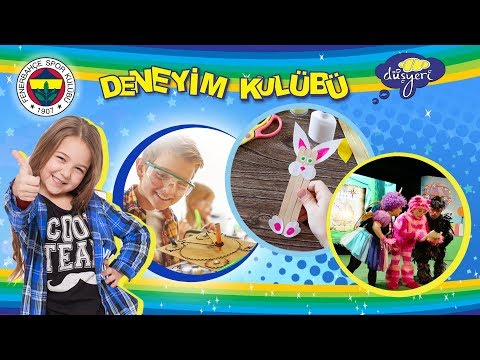 Hafta Sonu Fenerbahçe Düşyeri Çocuk Deneyim Kulübü'nde Buluşalım ! - Düşyeri