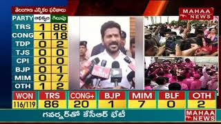 Revanth Reddy Reaction on Mahakutami Failure in Telangana Election