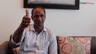 Coverfox Happy Customers: Sainath Angadi