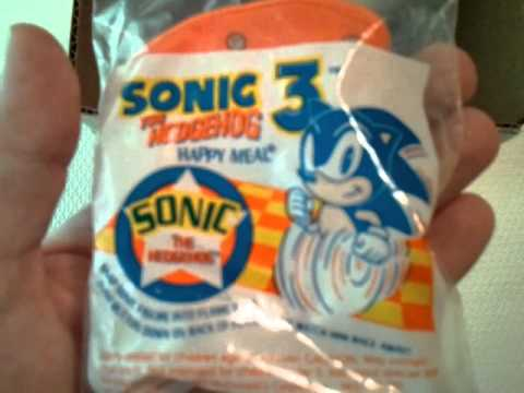 Packages & Pickups #9 - Sonic 3 Retro McDonalds Toys and Some Other Random Bits