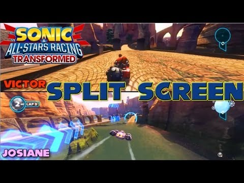 Sonic & All-Star Racing Transformed - PC Split Screen