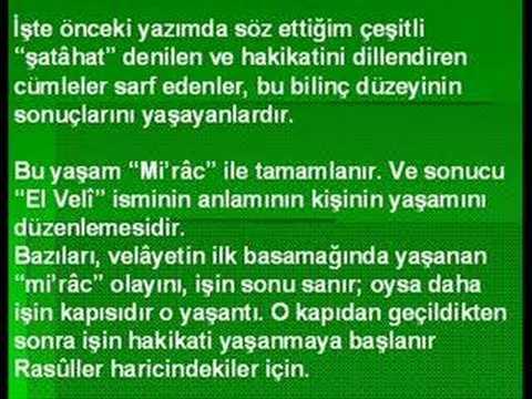 """Ahmed Hulûsi KURÂN MUCİZESİ """"EKBER""""İYET / 2.Bölüm"""