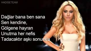 Hadise   Visal  Lyrics Video Dubstep