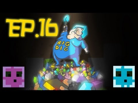 Minecraft: Big Dig Modpack Multiplayer Ep.16 - Fusion Chamber