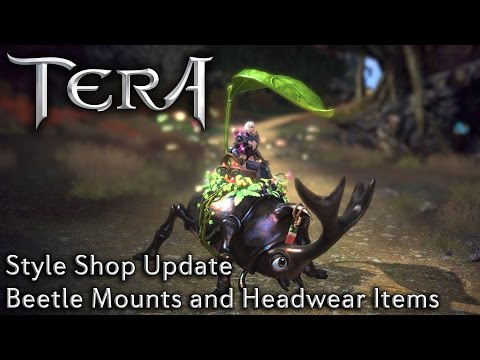 TERA KR | New Beetle Mounts and New Headwear | Style Shop Update 07/29