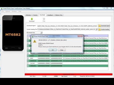 Error de flash tool (solución) como instalar software