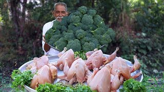 Broccoli with Chicken Recipe | How to Make Perfect Healthy Chicken With Broccoli | Grandpa Kitchen
