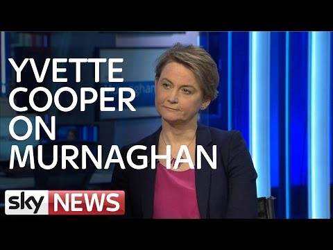 Yvette Cooper Talks Refugee Crisis and Europe on Murnaghan