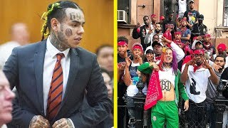 6ix9ine Life is in DANGER after Snitching on Gang Members in Court