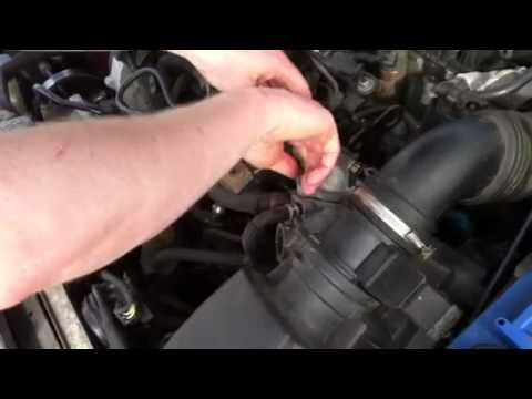 Replacing Thermostat Citro 235 N Xsara Youtube