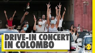 People attend drive-in open-air musical show in Colombo | Sri Lanka | Sri Lanka News