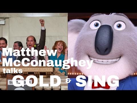 Matthew McConaughey interviewed by Simon Mayo
