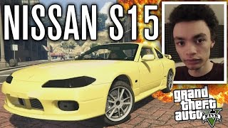 NISSAN S15 VS PED RIOTS?! | GTA 5 Mods