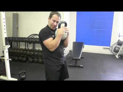 Muay Thai Clinch - Kettlebell Curl Exercise for Stronger Clinch Image 1