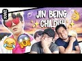 download lagu      GUYS REACT TO BTS 'Jin Literally Just Acting Like a Child for 10 Minutes Straight'    gratis