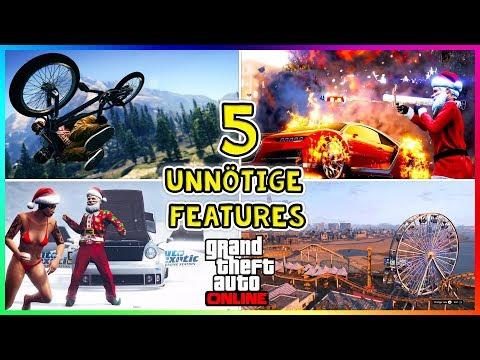 Die 5 UNNÖTIGSTEN Features in GTA 5 Online die NIEMAND mehr nutzt! | GTA 5 | By: Slag