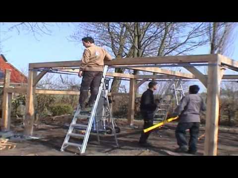 Afdak maken hout