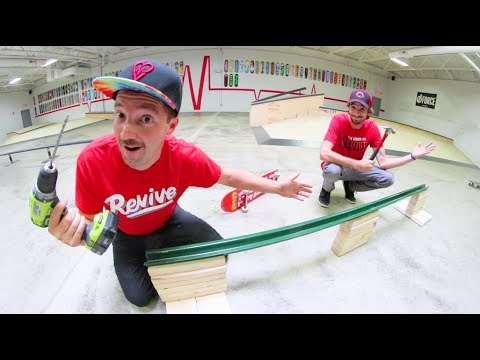 How to Build A Skate Rail For $50.