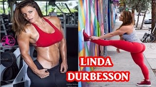 Linda Durbesson - Sexy Fitness Model / Full Workout & All Exercises