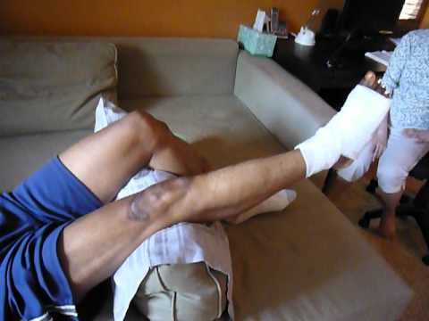 Rehab ex's for brother Robert--knee--ankle ROM