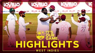 Late Cornwall Wickets Puts Pressure On Hosts! | Bangladesh v West Indies Day 3 1st Test - Highlights